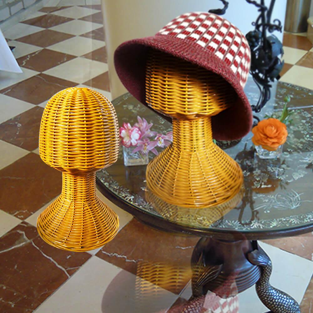 籐帽子スタンド