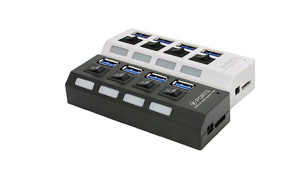 3.0 4ポート USBハブ