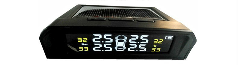 ソーラー式タイヤ空気圧モニター