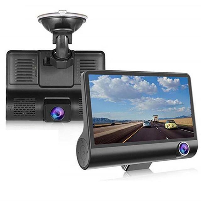 3カメラ搭載高画質ドライブレコーダー